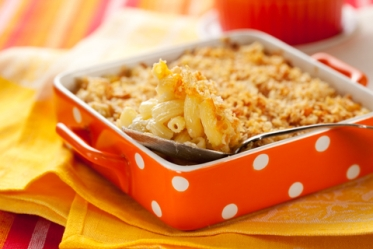 Staff Favorite: Baked Macaroni and Cheese | At Your Desk